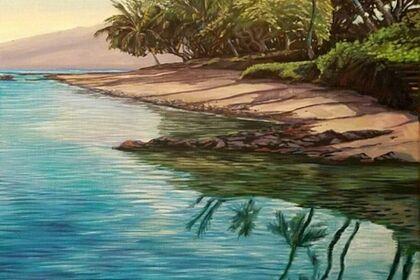Hawaii en Plein Air by Christian Enns