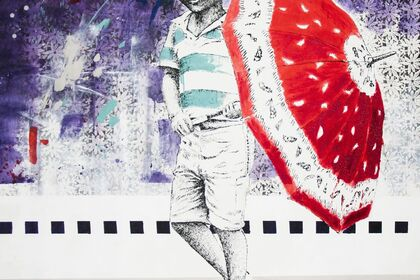 The new works of Edward Selematsela