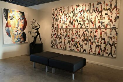 "Didier Lourenço: ""Celebración de la Mujer"": Oils and Lithographs"