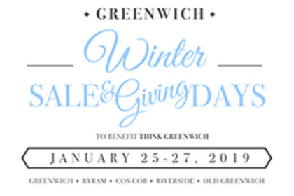Greenwich Winter Sale & Giving Days
