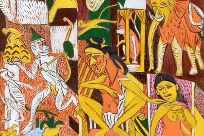 KG Subramanyan - In the honeycomb of stories
