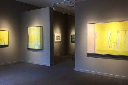 Lee Hall: A Memorial Exhibition, The Last Paintings