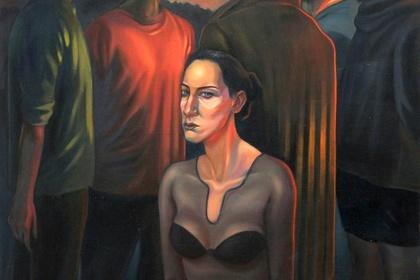 BREAK UP - Damian Bąk Painting