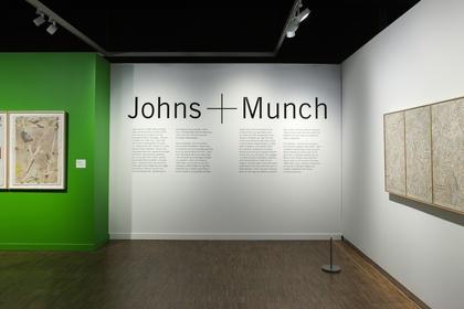 Jasper Johns + Edvard Munch