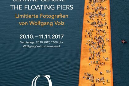 Christo & Jeanne-Claude - The floating piers. Limitierte Fotografien von Wolfgang Volz