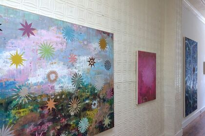Perry Burns, Flower Tapestries
