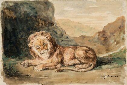 Eugène Delacroix: Drawings, Watercolors, Pastels, and Small Oils