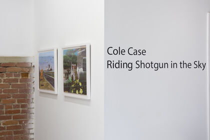 Cole Case 'Riding Shotgun in the Sky'