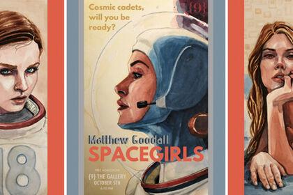 SPACEGIRLS: A Cosmic Fantasy by Matthew Goodall