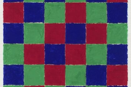 Peter Halley. Patterns and Figures, Gouaches 1977/78