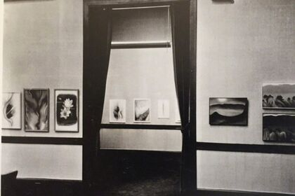 "Georgia O'Keeffe ""Some Memories of Drawings"" 1968 10 Lithgrpahs"