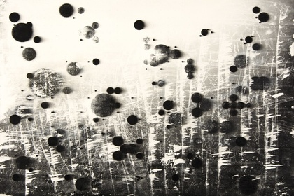 Dice, Clouds, Molecules: Drawings by Jarosław Grulkowski