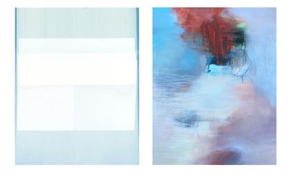 Paintings by Jeffrey Cortland Jones + Sara Pittman