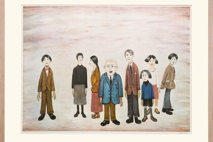 The Prints of L. S. Lowry