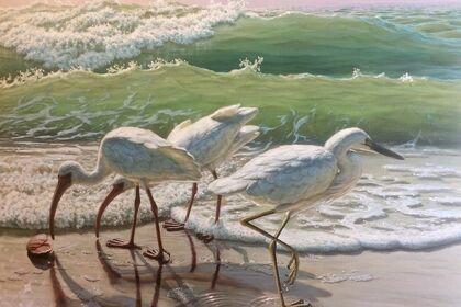 """David Ruhe """"Nature Paradise"""" Paintings"""