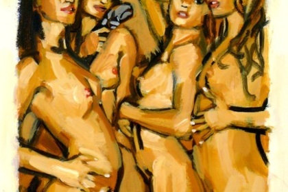 Take Home a Nude Auction + Art Party