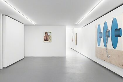 Gamberge, a solo show by ANNE NEUKAMP.