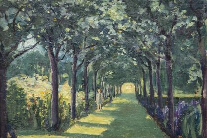 THE PAINTINGS OF SIR WINSTON CHURCHILL