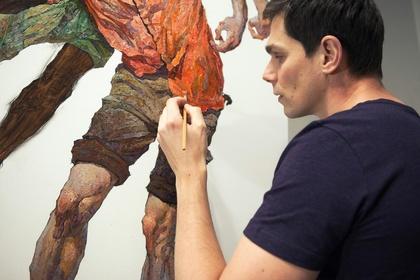 """Denis Sarazhin - """"New Paintings"""""""