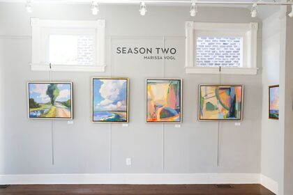 Season Two: New Paintings by Marissa Vogl