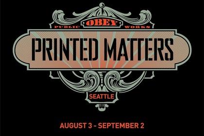 Shepard Fairey | Printed Matters