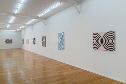 Michael Scott. Circle Paintings.