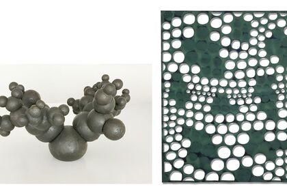 John Crawford Sculpture & Eva Faye Paintings