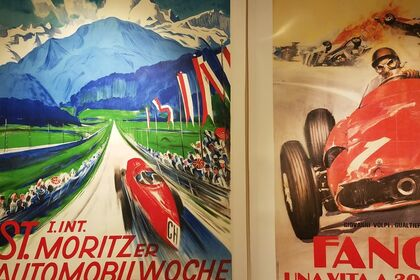 Vintage Automobile Posters