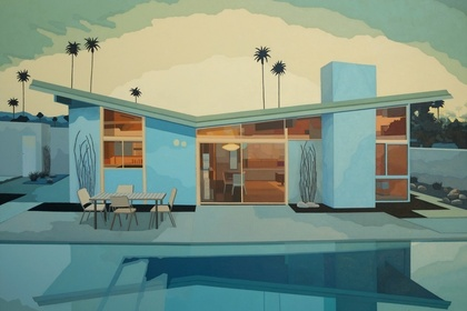 """Mid-century in the Desert"""
