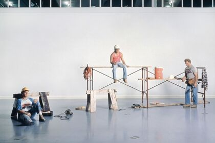 I Don't Like Fiction, I Like History: Duane Hanson with Thomas Demand, Andreas Gursky, Sharon Lockhart, and Jeff Wall