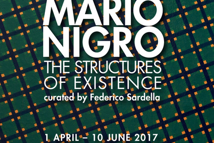 Mario Nigro. The structure of existence