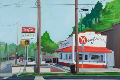 Strangely Normal - recent paintings by Rachel Campbell