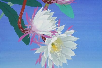 "Hiroki Takahashi Japanese paintings ""Toaru Hanabiyori, Yama moyou / One Fine Day, Beauty of Nature"""