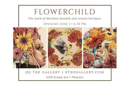 Flowerchild: The Work of Matthew Goodall & Ariana Enriquez