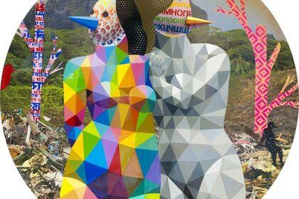 Okuda San Miguel - The Plastic Island
