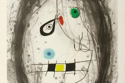 Joan Miro: Working Proofs from the Studio