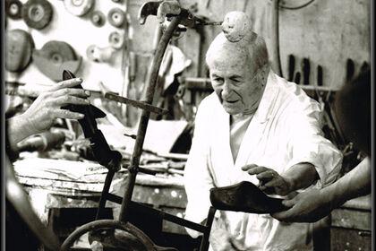 Joan Miro - Chez le fondeur