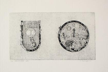 "Tatsuo Kawaguchi ""Copperplate Prints From 1963"""