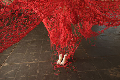 Chiharu Shiota: Me Somewhere Else