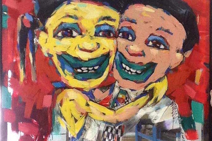 Sorrisi by Workneh Bezu | Solo Exhibition