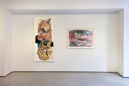 At the Threshold: Works on Paper by Regina Scully & Iva Gueorguieva