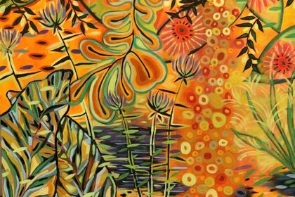 Flower Meets Line