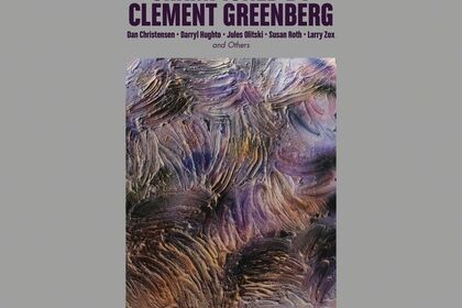 COLORFIELD PAINTERS CHAMPIONED BY CLEMENT GREENBERG