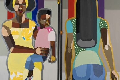 Derrick Adams: The Ins and Outs: Figures in the Urban Landscape