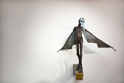 Holly Wilson | New Works: Homage #AlbertoGiacometti