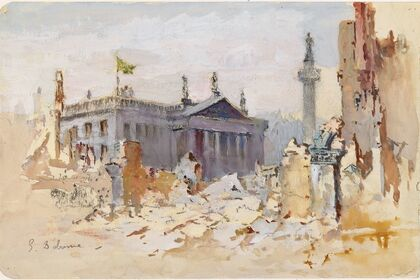 James Stephens, the National Gallery of Ireland, and the 1916 Rising