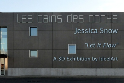 Let It Flow, an online 3D exhibition by Jessica Snow