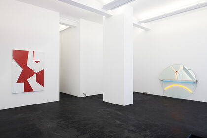 «Negotiating Geometry» | Reto Boller, Mary Heilmann, Cindy Hinant, Haroon Mirza, Keith Sonnier