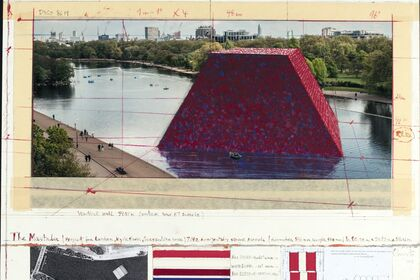 Christo & Jeanne-Claude: Barrels and The Mastaba 1958-2018