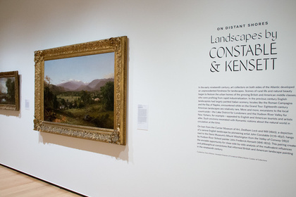 On Distant Shores: Landscapes by Constable and Kensett